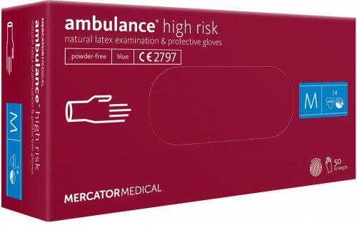 ambulance® high risk latex kesztyű