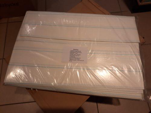 Sentina® vízhatlan védőlepedő 75 cm × 210 cm (50 darab/csomag)