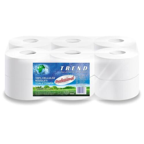 Nagytekercses toalettpapír TREND Professional 100% cell mini 2 rétegű 19 cm átm. 120m
