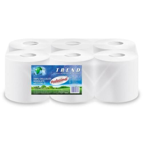 Tekercses kéztörlő TREND Prof. fehér 2 r., 19 cm, 100 m 100% cell
